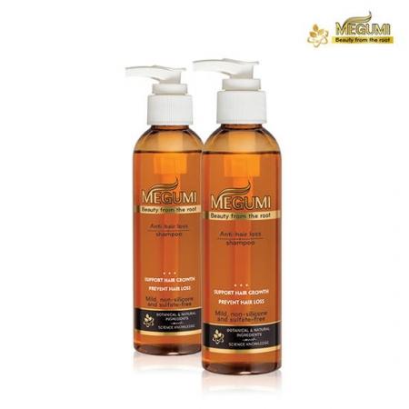 Bộ dầu gội dầu xả ngăn rụng tóc MEGUMI