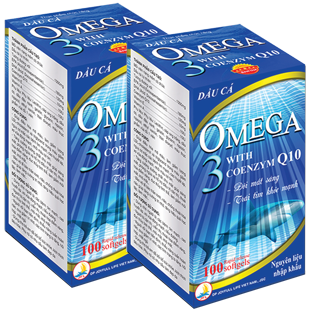 OMEGA 3 With Coenzym Q10
