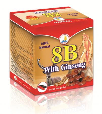 Vitamin 8B With Ginseng