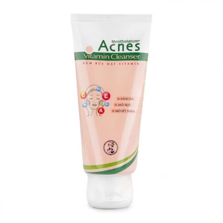 Kem rửa mặt Acnes Vitamin Cleanser 50g